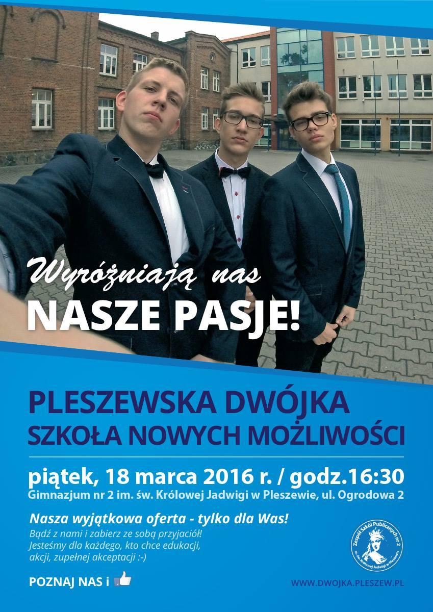 Zapraszamy na Drzwi Otwarte do najlepszego gimnazjum w mieście!