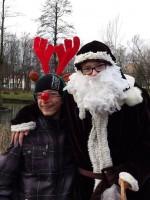 Mikołaj z reniferem