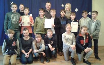 Miejsko-Gminne Drużynowe Zawody Szachowe w kategorii szkół podstawowych i gimnazjum