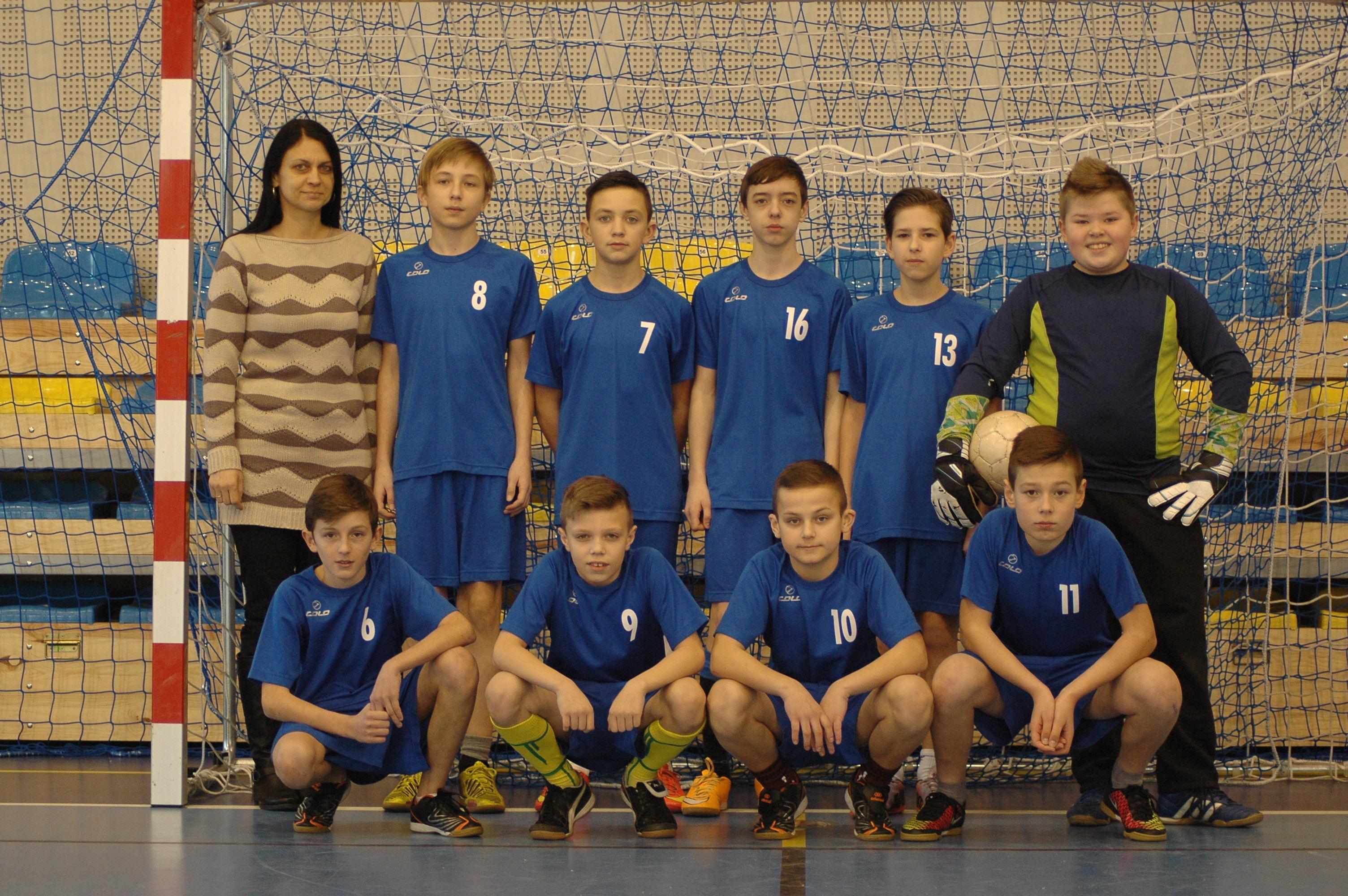 III miejsce w turnieju piłkarskim