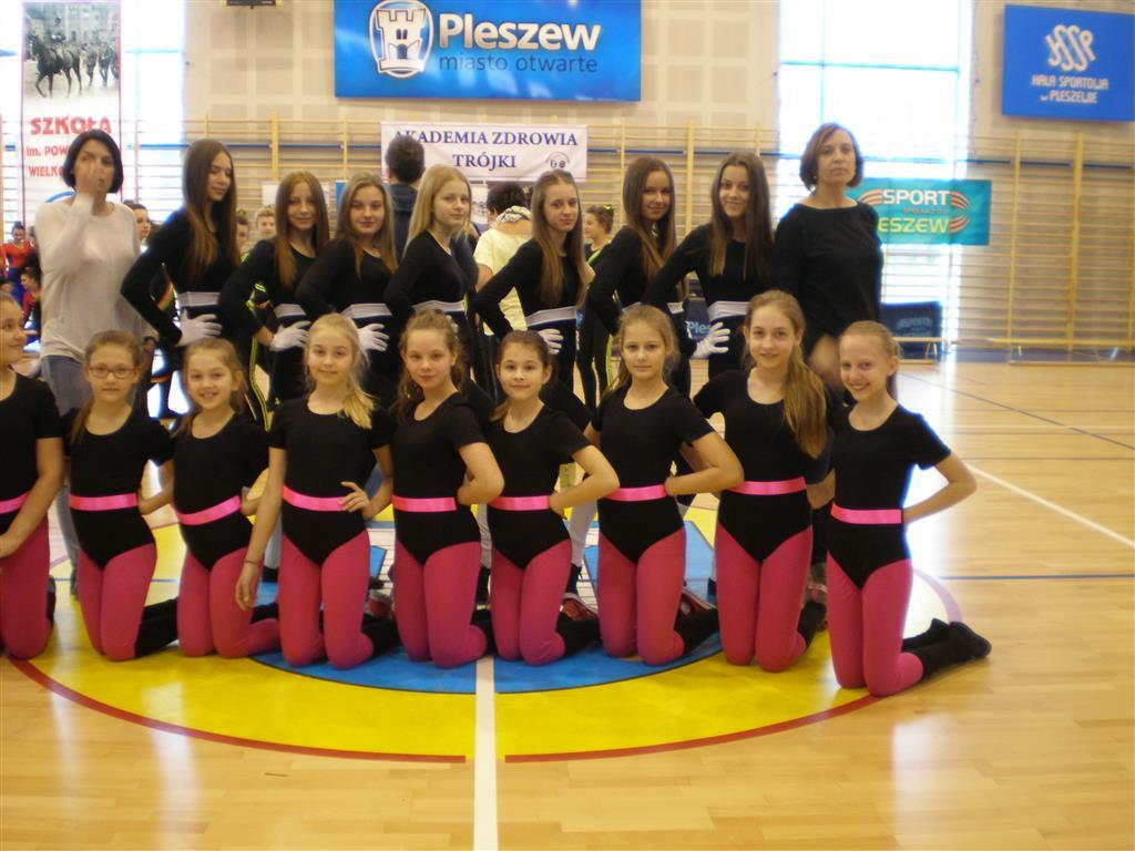 Powiatowe Mistrzostwa w Aerobiku Grupowym