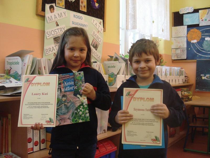 Laureat Konkursu Recytatorskiego