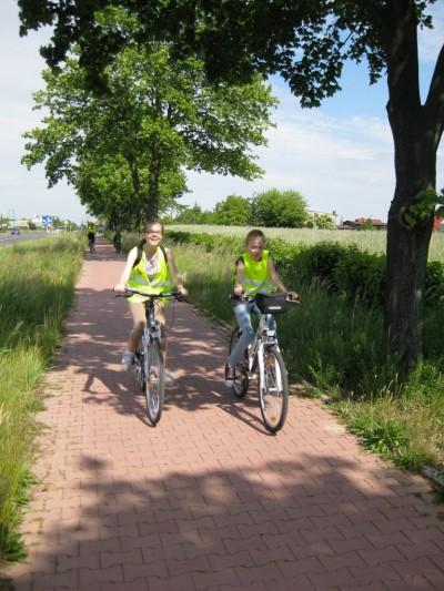 Integracyjny rajd rowerowy do Gołuchowa