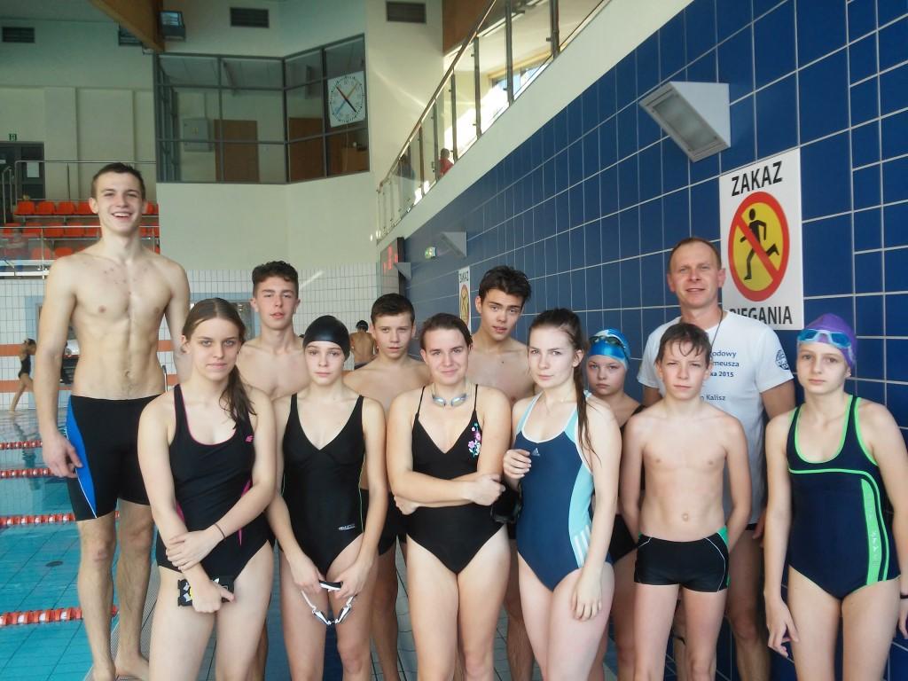 Drużynowe Mistrzostwa w Pływaniu