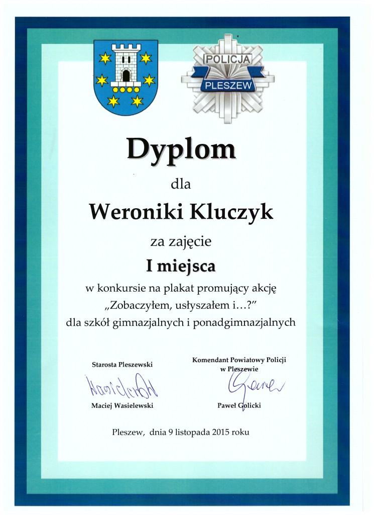 dyplom kluczyk