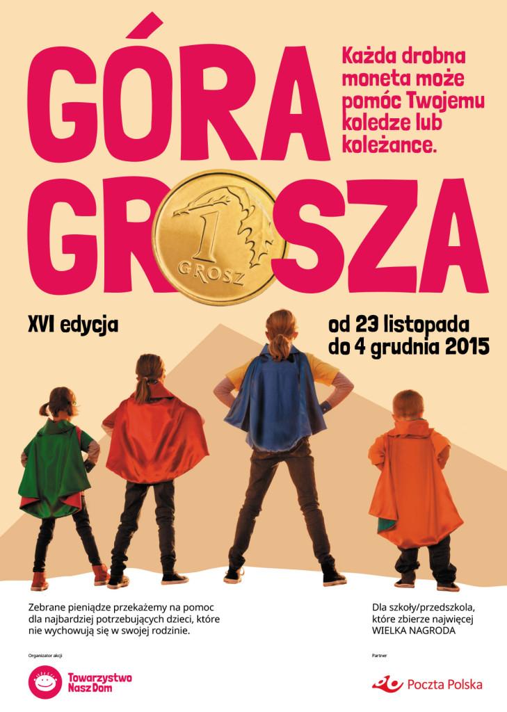 """Akcja """"Góra Grosza"""" w naszej szkole"""
