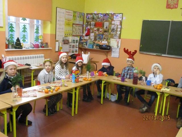 Świąteczne spotkanie w klasie II c