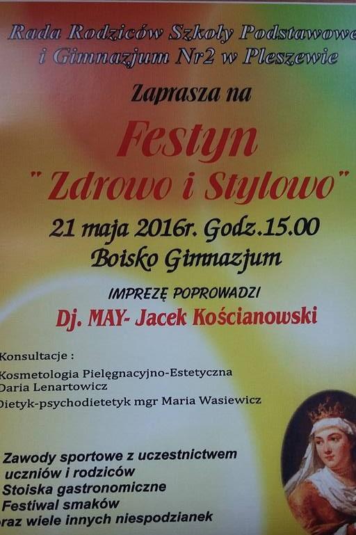 """Festyn """"Zdrowo i Stylowo"""""""