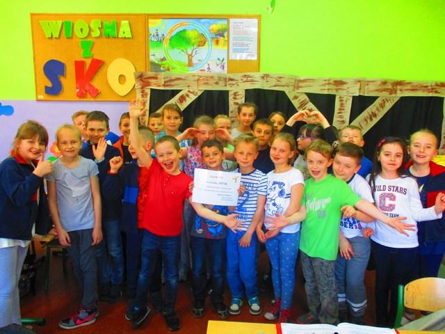 Finał II Wiosennej Loterii SKO w klasach I-III