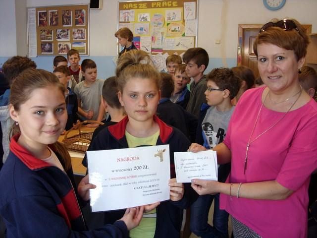 Finał II Wiosennej Loterii SKO w klasach IV-VI