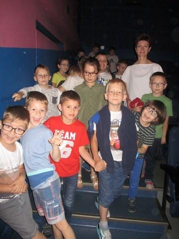 Najmłodsi w kinie…