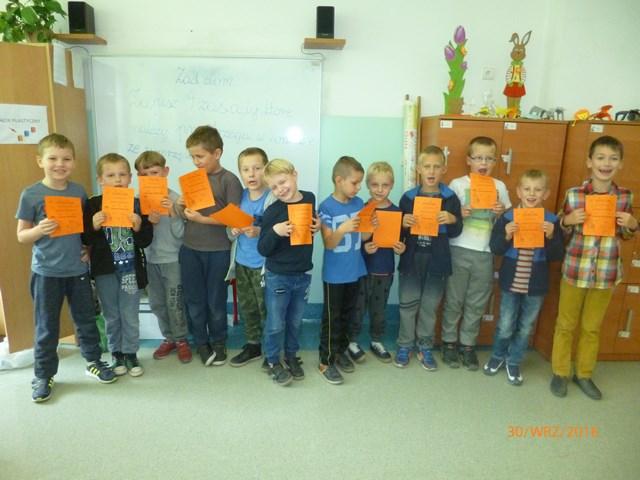 Dzień Chłopca w klasie IIa