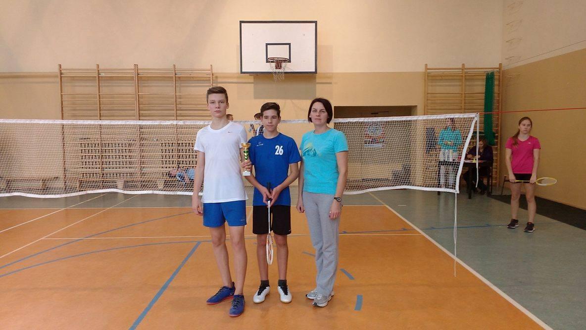 Podwójne ZŁOTO badmintonistów!