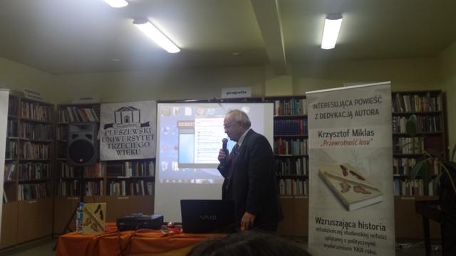 Spotkanie autorskie z Krzysztofem Miklasem