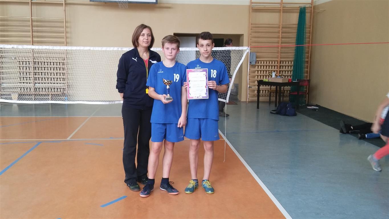 Sukces badmintonistów