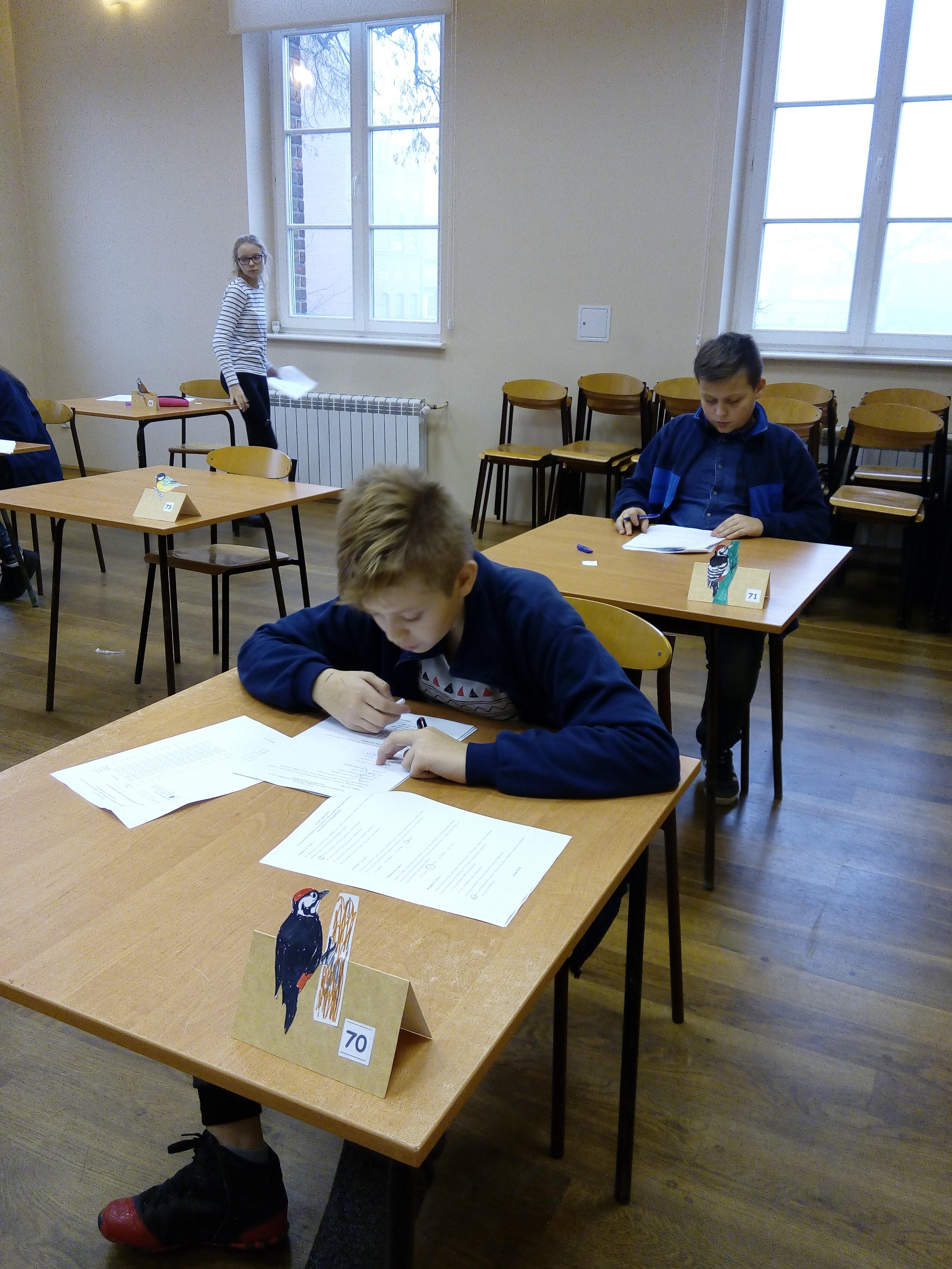 Wyniki Wojewódzkiego Konkursu Przyrodniczego dla szkół podstawowych. Etap szkolny