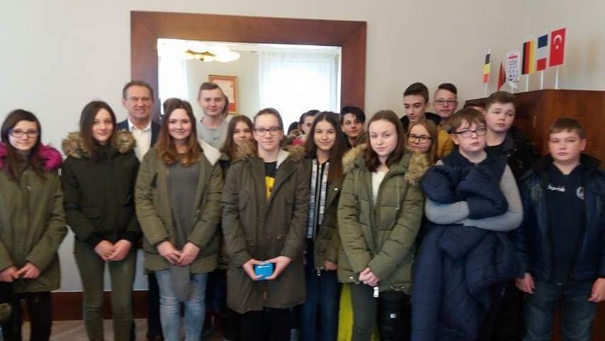 Lekcje wiedzy obywatelskiej w Urzędzie Miasta i Gminy w Pleszewie