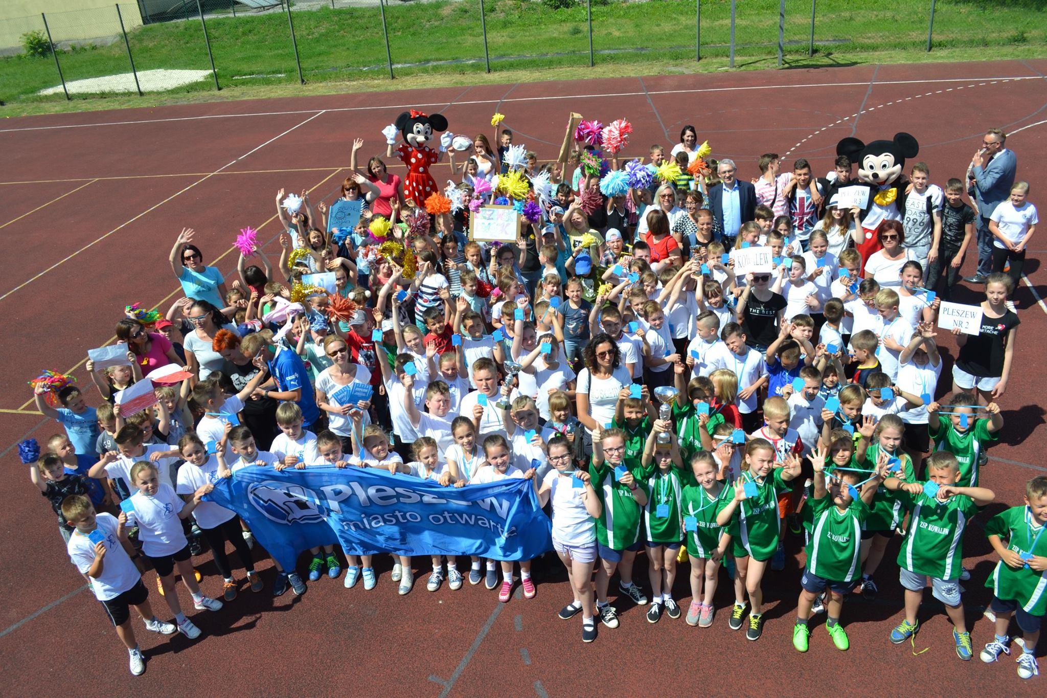 Olimpiada Sportowa PPL dla klas IV-VI