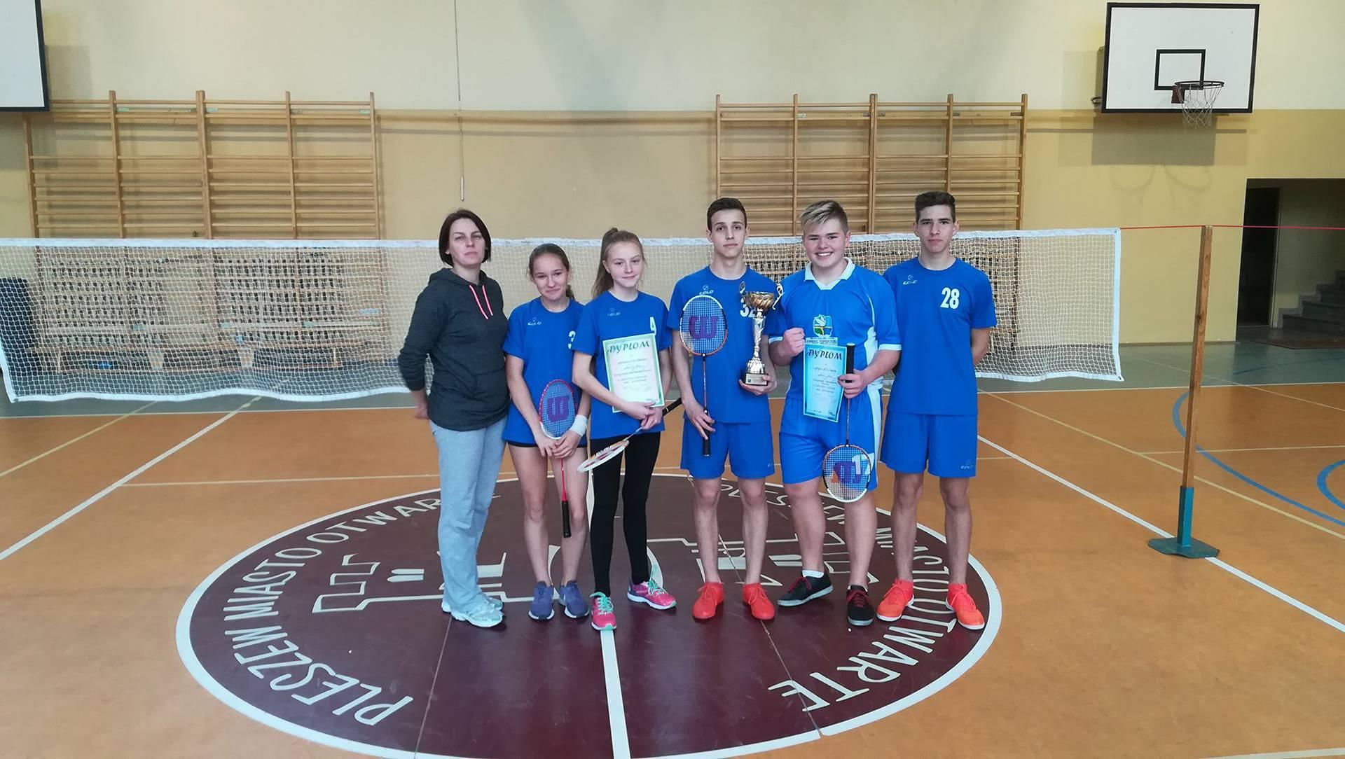 Sukcesy badmintonistów