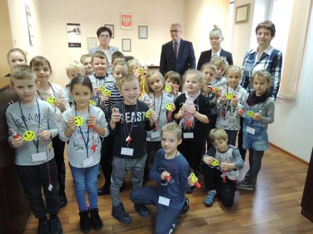 Uczniowie klasy Id z wizytą w Urzędzie Skarbowym