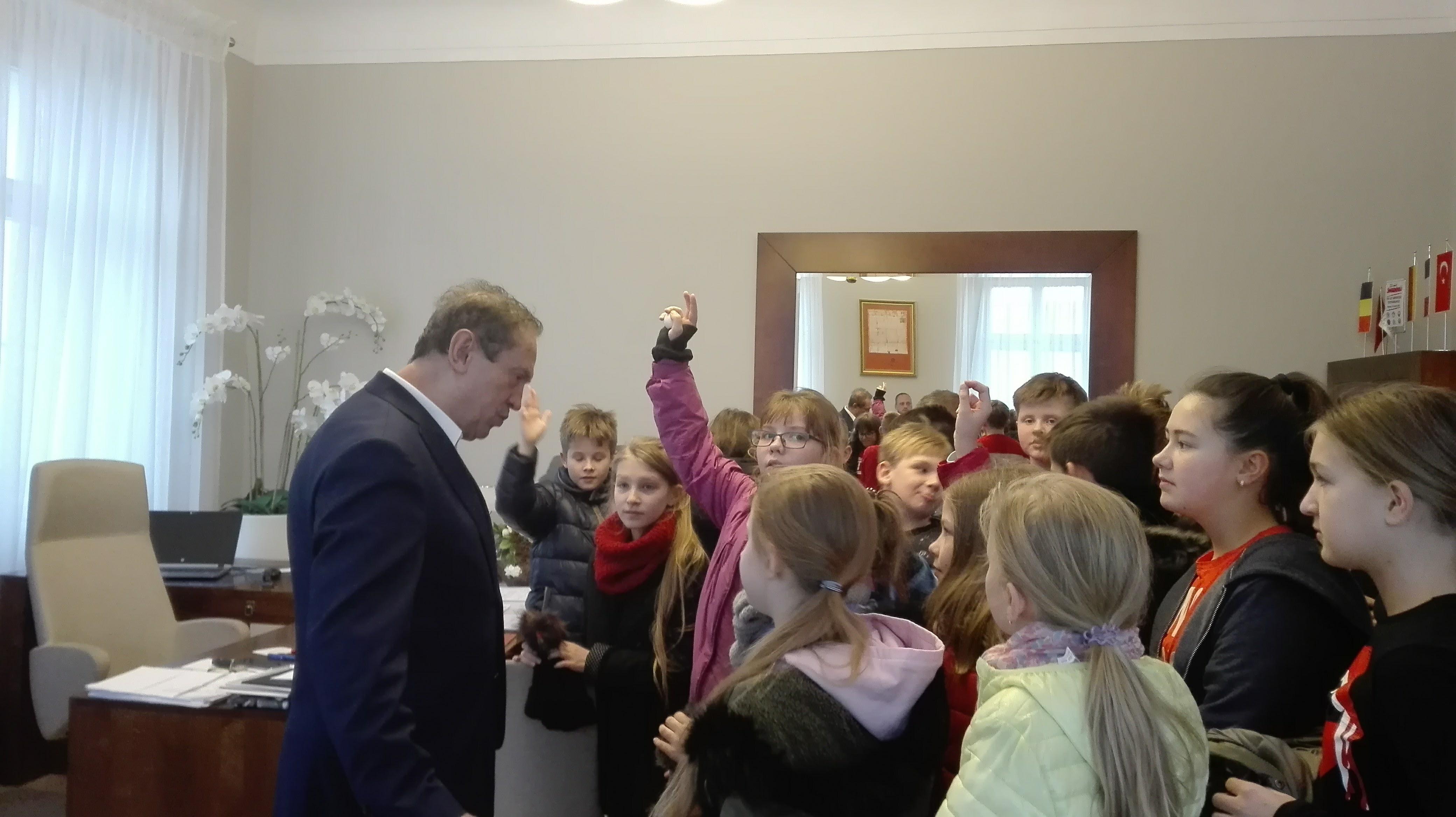 Wizyta w UMiG w Pleszewie