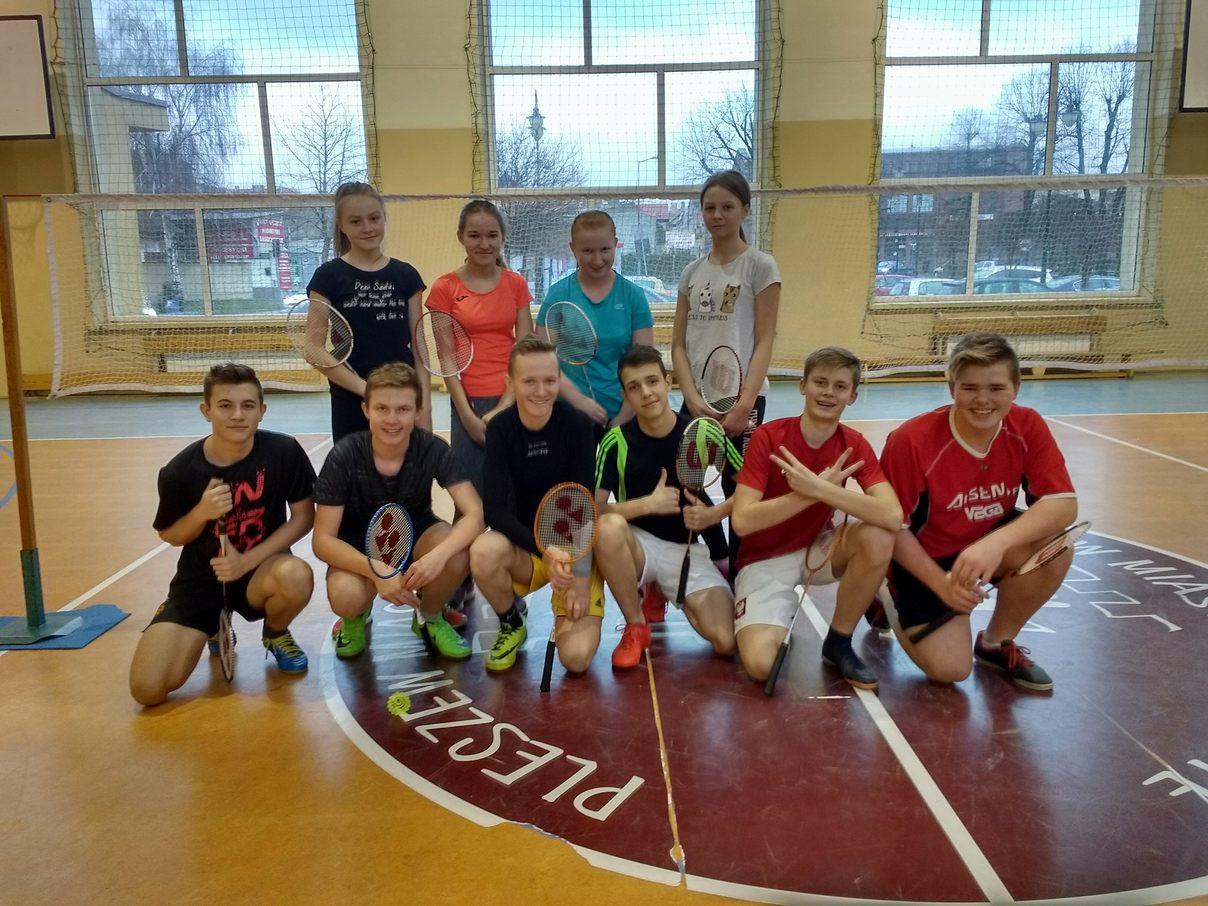 V Noworoczny Turniej Badmintona