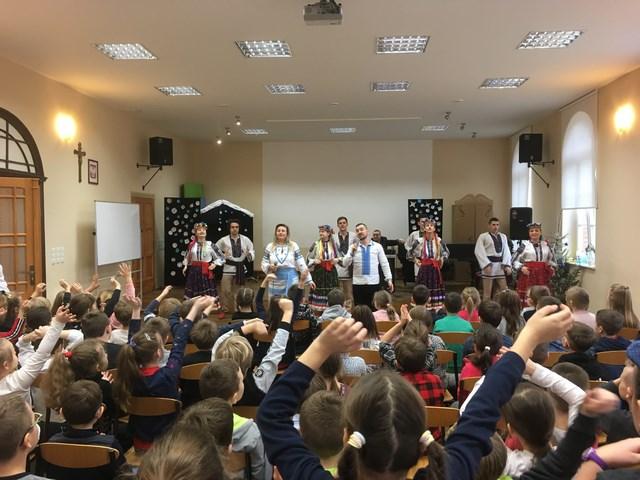 Występ zespołów z Ukrainy
