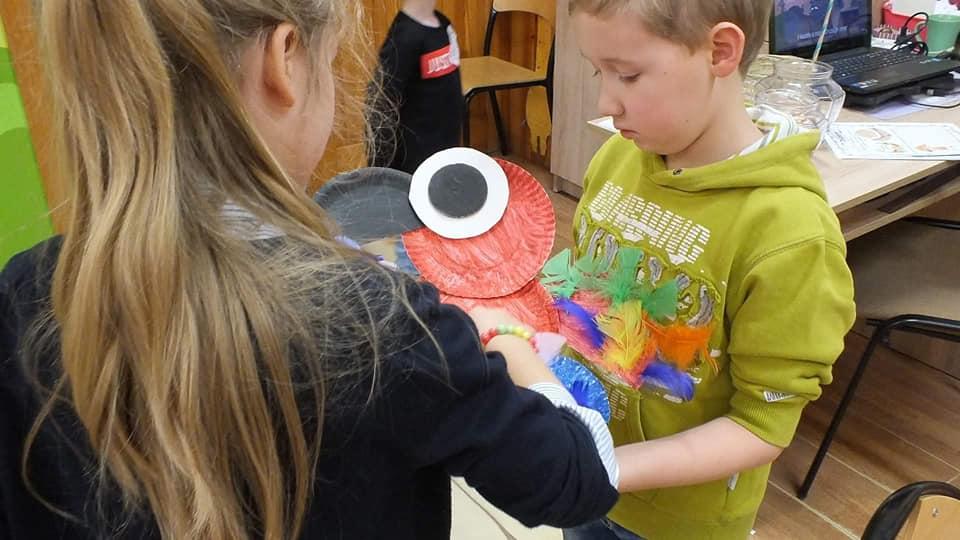 Kreatywne warsztaty z rodzicami  i dziećmi w świetlicy – Projekt Safari-Jungla
