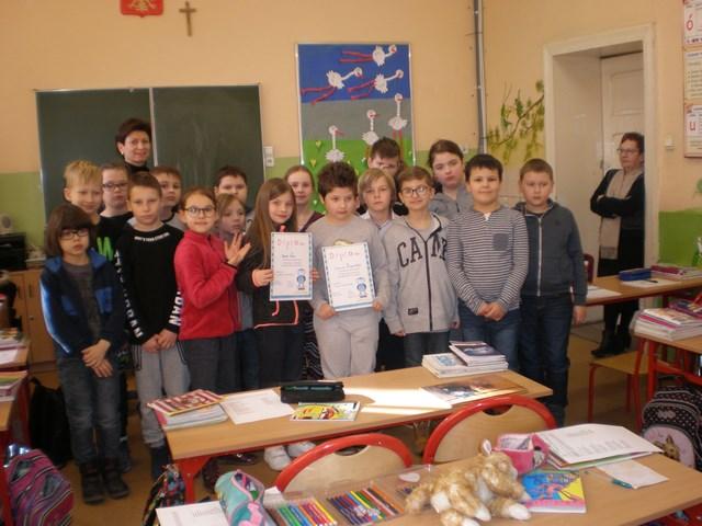 Konkurs Recytatorski w klasie IIIc