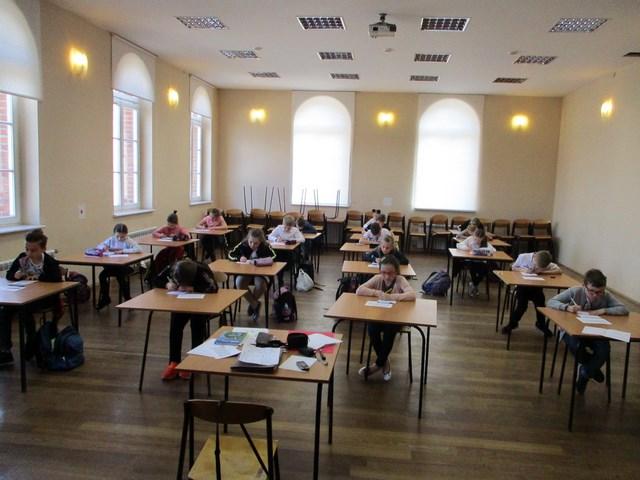 Szkolny Konkurs Kaligraficzny klas I-III