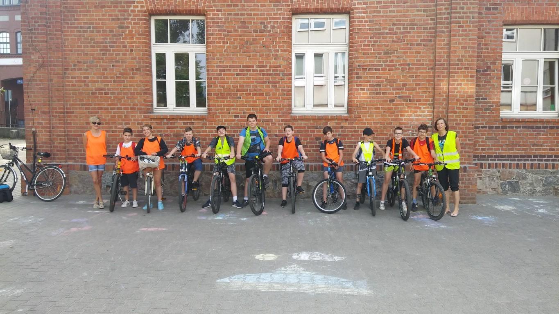 Rajd rowerowy do Gołuchowa