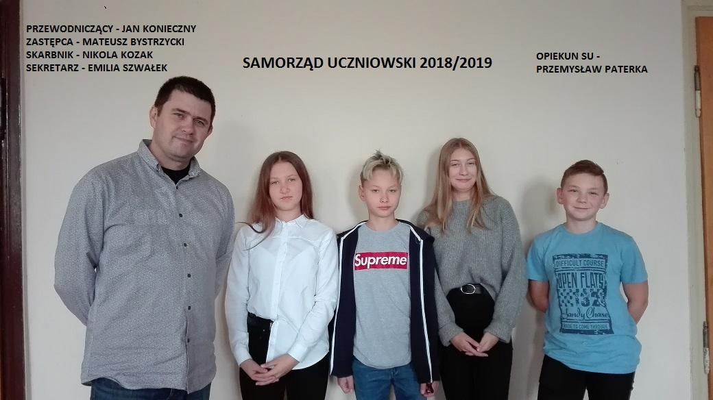 Przedstawiamy nasz nowy Samorząd Uczniowski