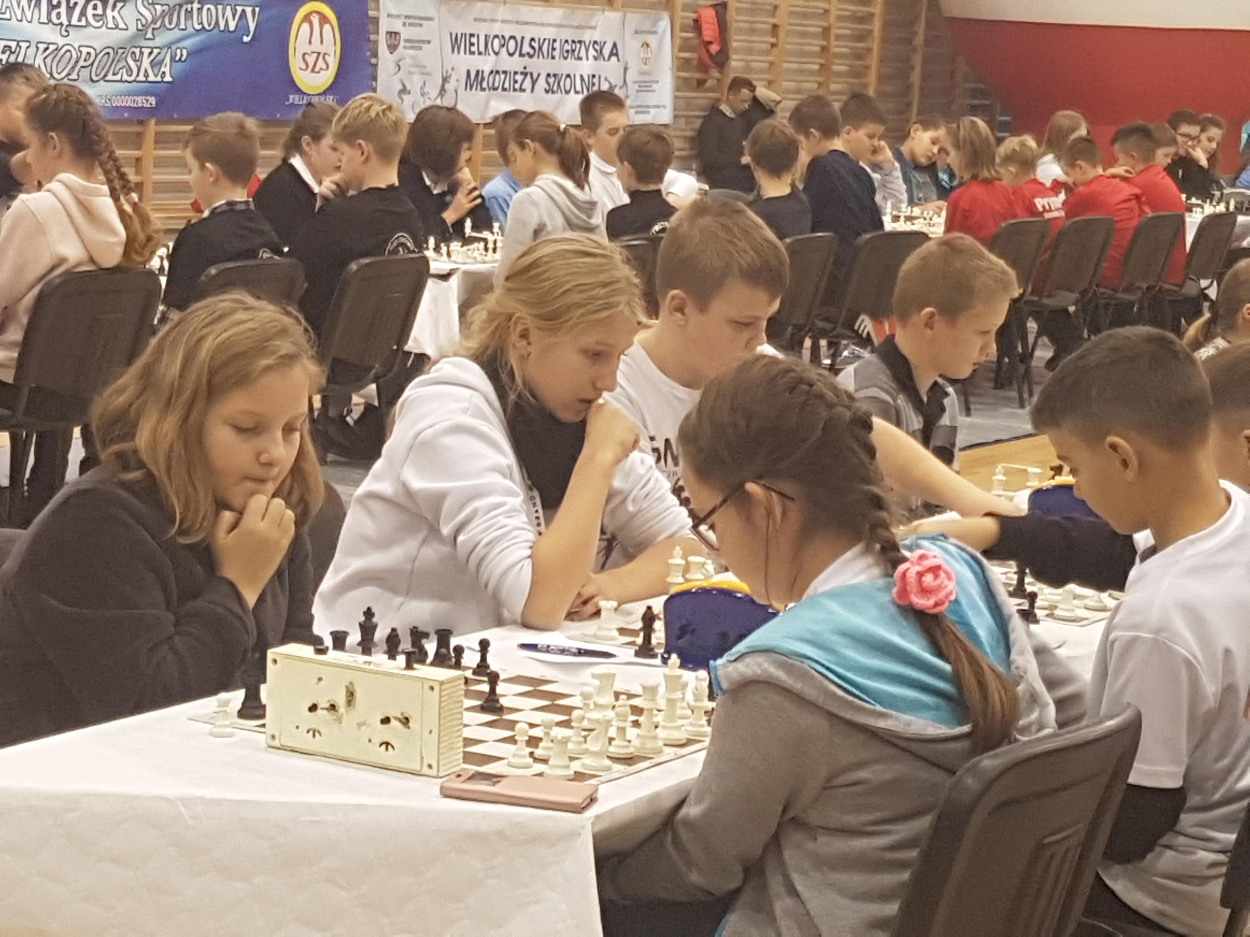 Świetny wynik naszych szachistów!