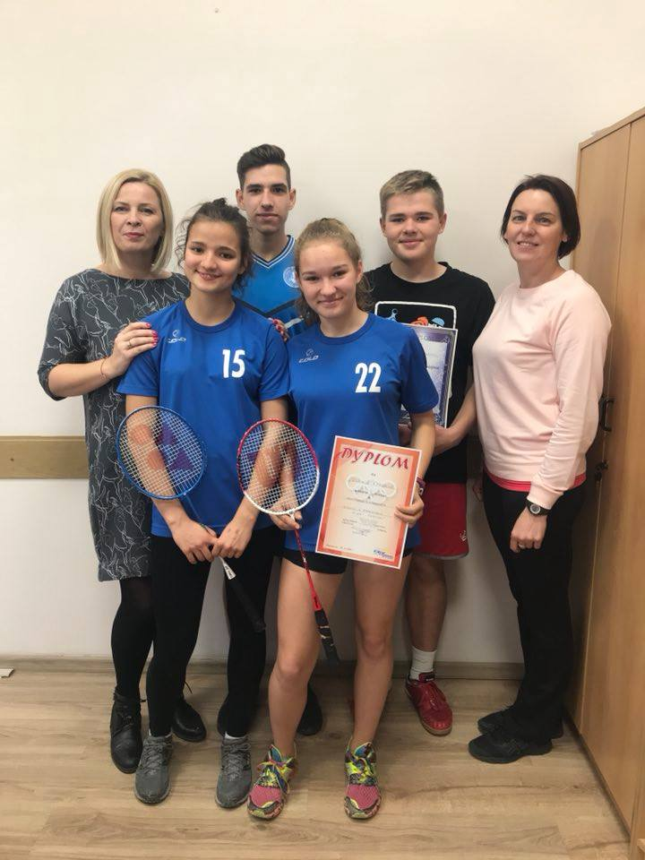 Gratulujemy naszym badmintonistom!