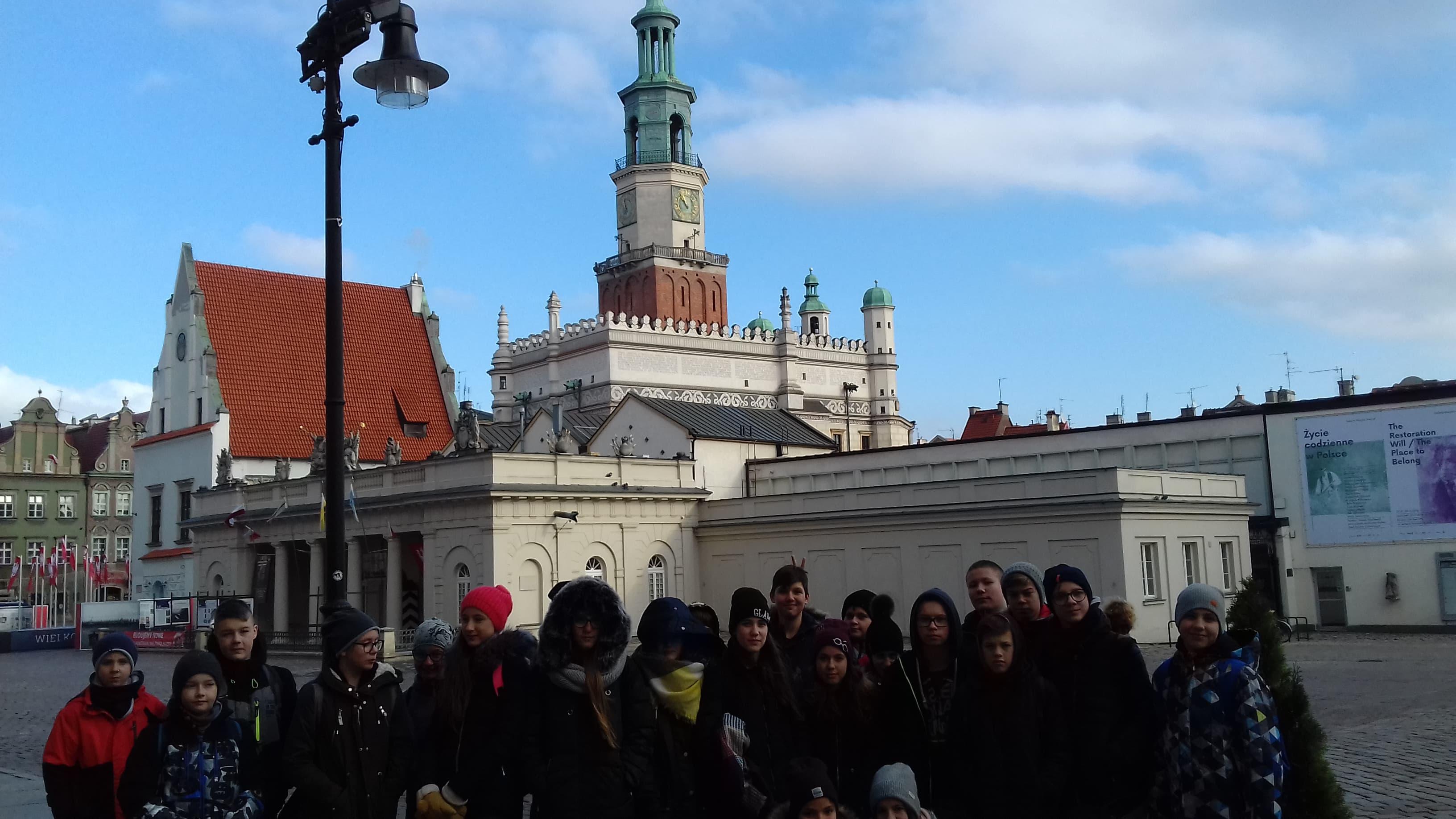 Lekcja historii i Muzeum Czekolady w Poznaniu