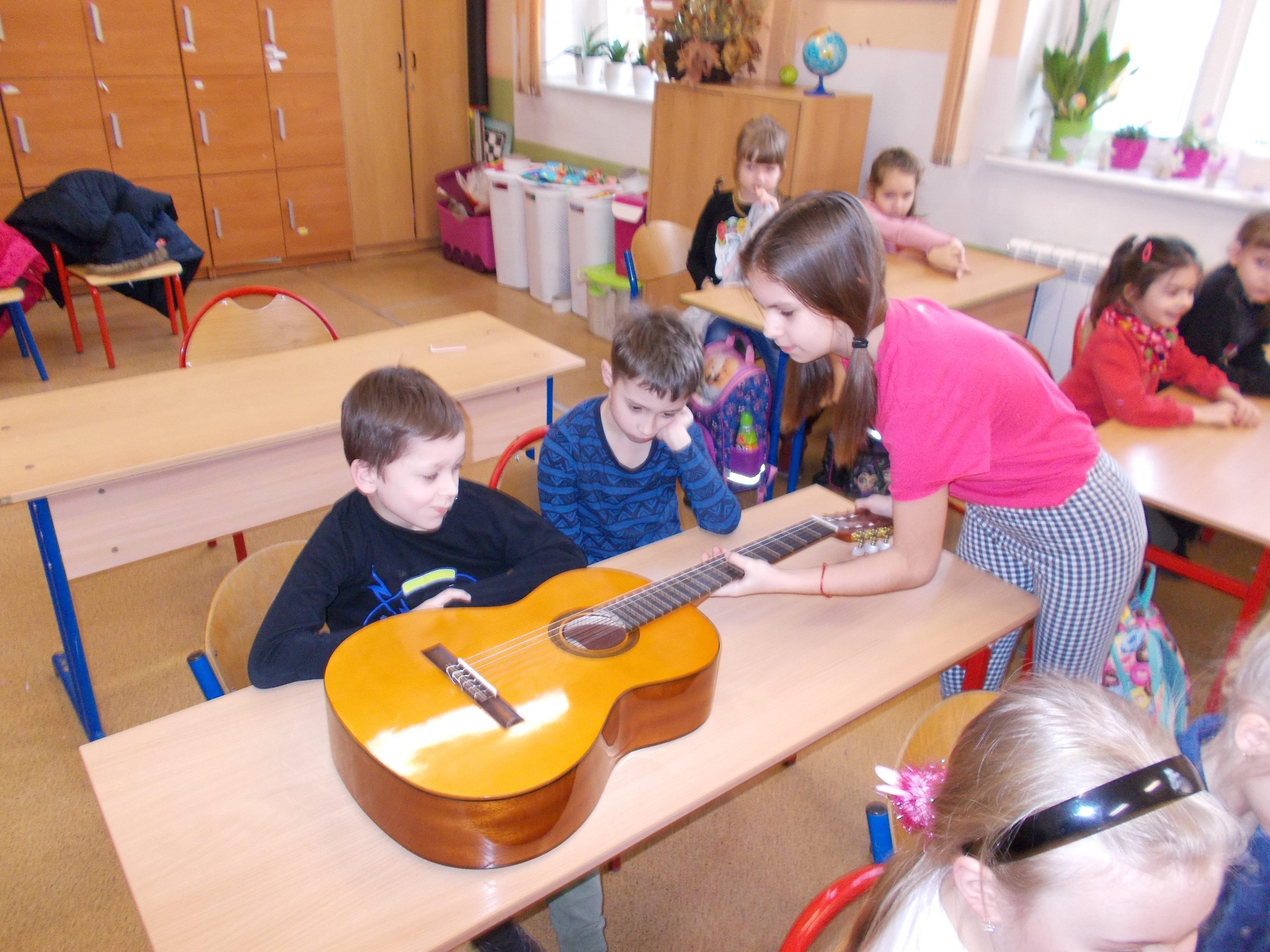 Niezwykła lekcja muzyki w klasie I a