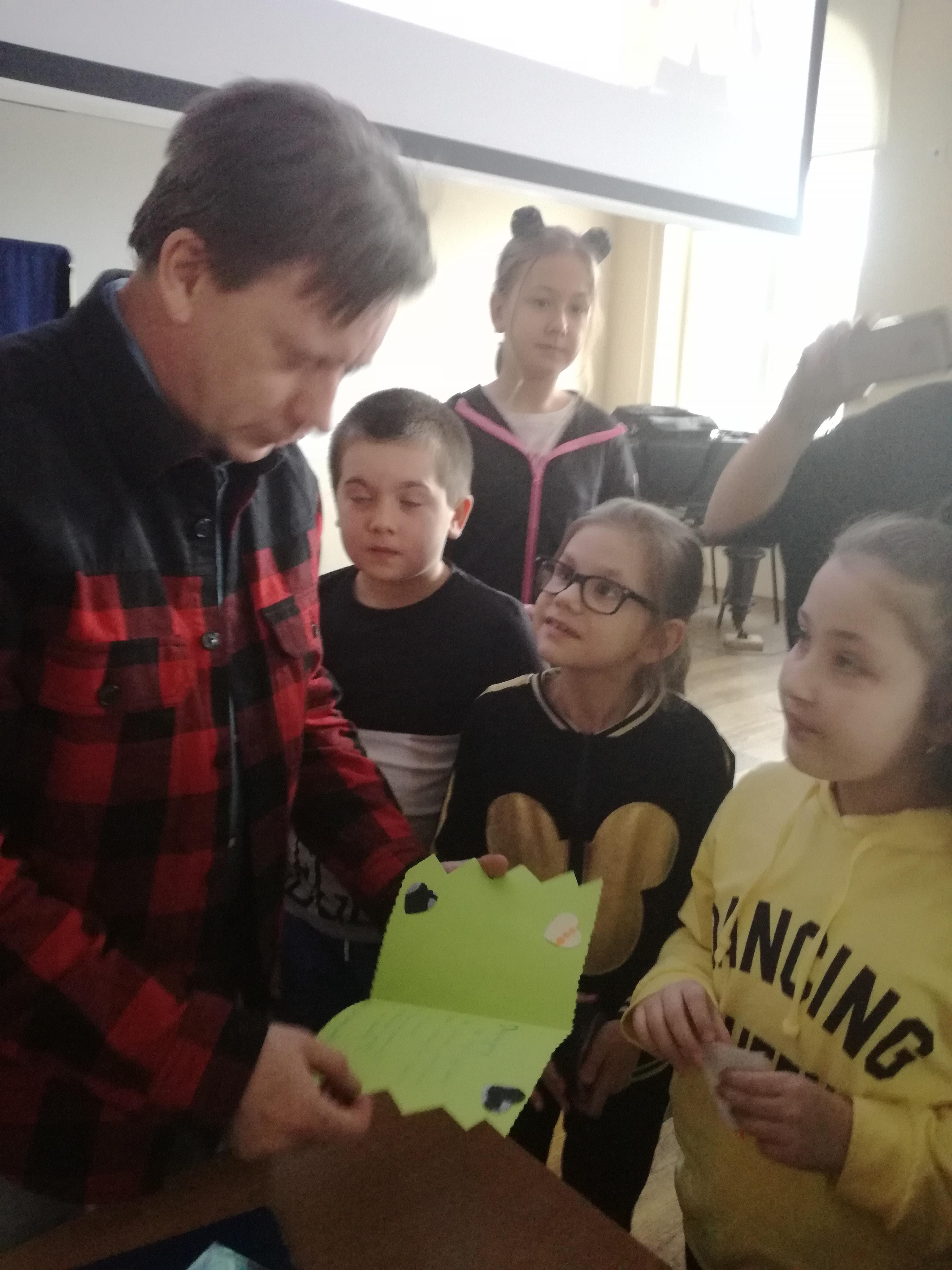 Spotkanie z pisarzem Krzysztofem Petkiem