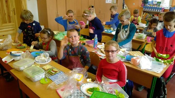 Zdrowe śniadanie w klasie IIa