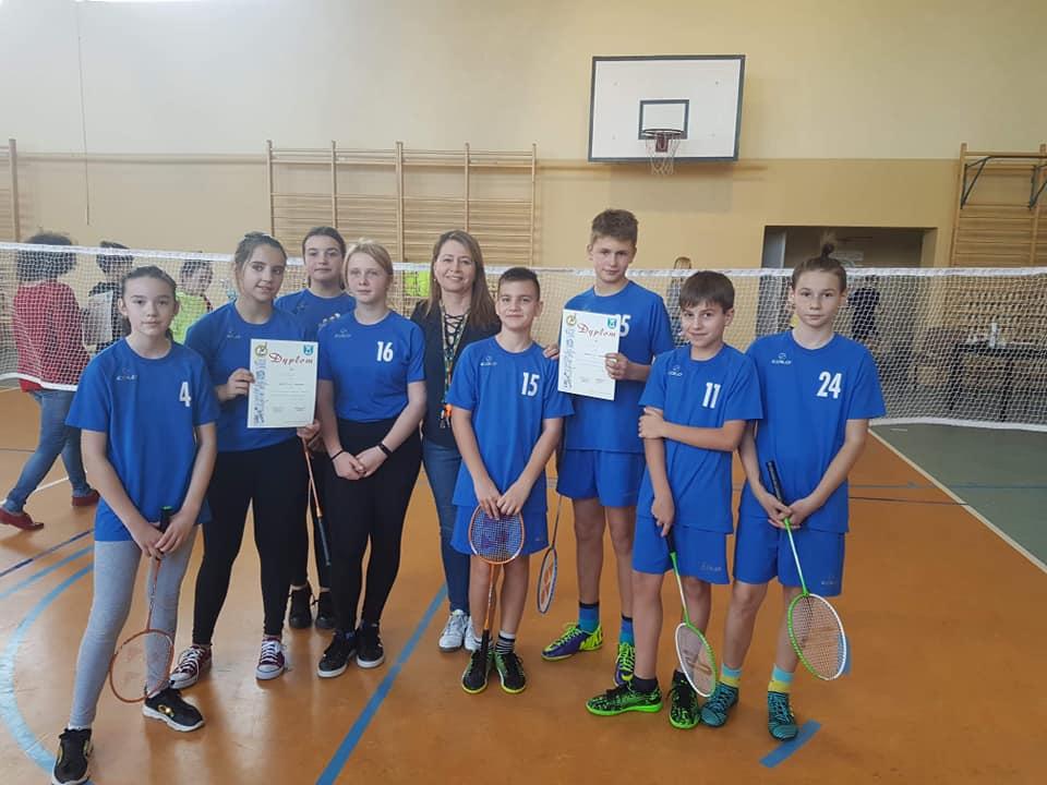 Kolejny sukces w badmintonie