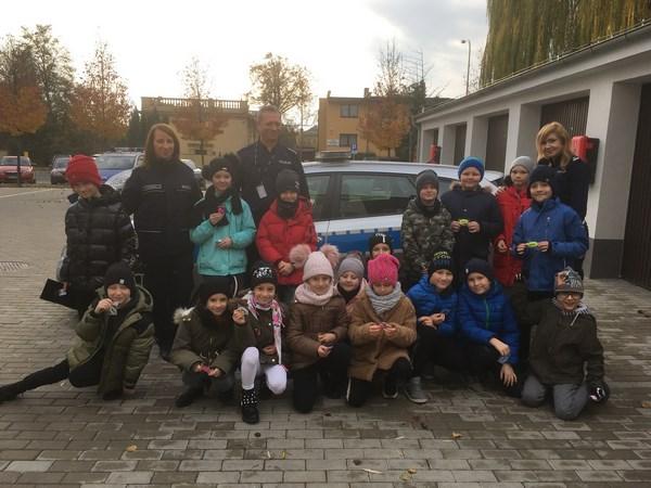 Uczniowie klasy IIId ponownie zwiedzili Komisariat Policji…Tym razem w Pleszewie.