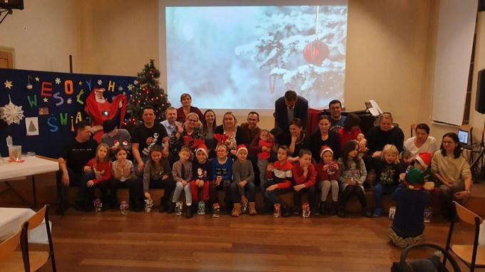 Spotkanie świąteczne w klasie I c