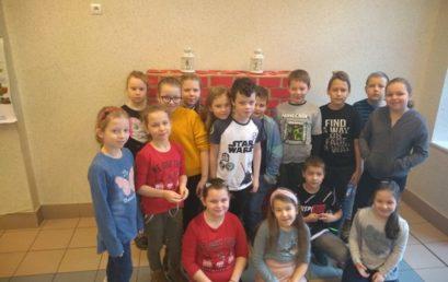 Zapachniało piernikami… Piekli je uczniowie klasy IIIc