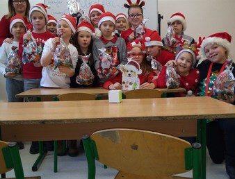 Mikołajki w klasie IIIc