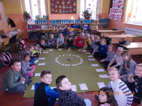 Andrzejki w klasie IIa