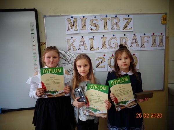 Międzyszkolny Konkurs Kaligraficzny