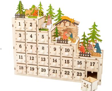 Interaktywny kalendarz adwentowy
