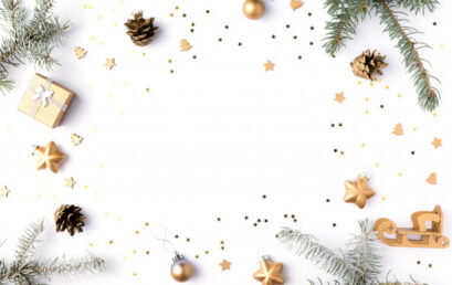 Uczniowie klasy 1b ślą świąteczne życzenia