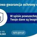 Informacje dotyczące Narodowego Spisu Powszechnego